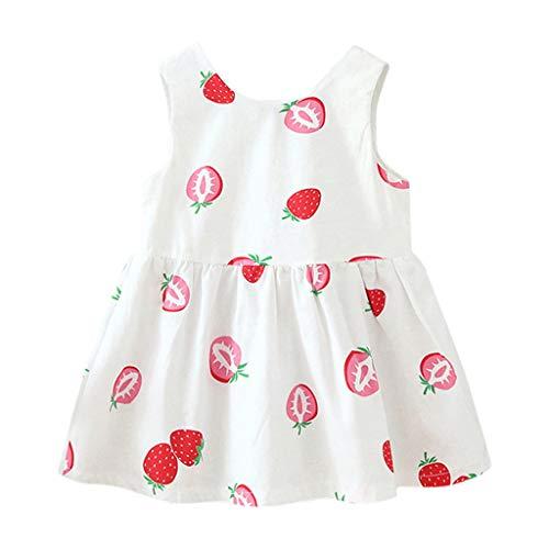 Kleinkind Kinder Baby Mädchen Sommer Floral Plaid gedruckt Bleistift Hip Rock Kleidung Prinzessin Kleid Verrücktes Kleid Partei Kostüm Outfit