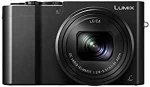 Panasonic Lumix DMC-TZ100EBK Compact Digital Camera (20.1 MP, 25-250 mm, 10x Optical Zoom, F2.8-5.9 Leica Lens) - Black