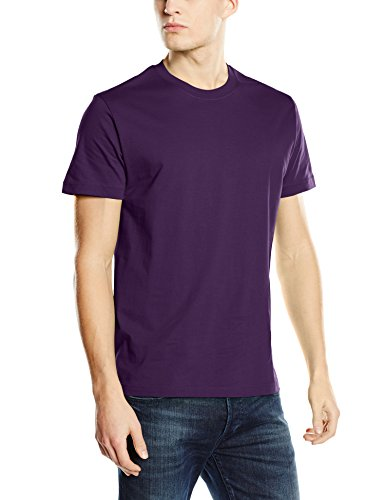 Stedman Apparel Herren Regular Fit T-Shirt Purple (Deep Berry)