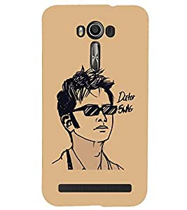A2ZXSERIES Back Case Cover for Asus Zenfone 2 Laser ZE500KL :: Asus Zenfone 2 Laser ZE500KL (5 Inches)