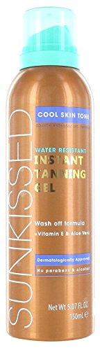 Sunkissed gel abbronzante istantaneo, splendida tonalità della pelle, 150 ml