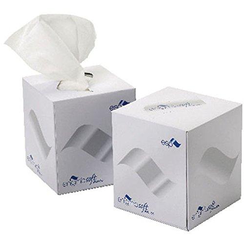 ESP LTD ftw070tissus du visage Cube Boîte Crème, kmax10010(Lot de 24)
