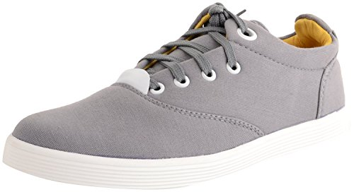 Red Rose Men's Blue canvas Casual Shoes (7, grey)