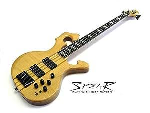 """E-Bass """"SPEAR"""" S-1 FL Flame Top"""