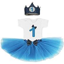 19d58ac2b Amazon.es: corona cumpleaños - Azul
