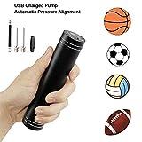 Suntapower Pompa ad Aria Elettrica Intelligente Pompa Mini a Sfera Automatica con Funzione di Pressione Preimpostata e LED Flash per Pallavolo Basket Calcio Rugby