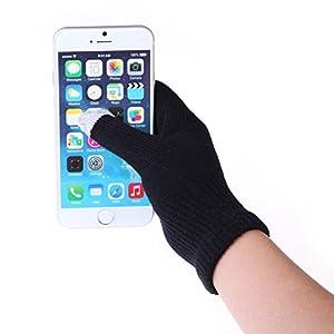 Vktech® Women Men Touch Screen Soft Cotton Winter Gloves Warmer Gloves for Smartphones