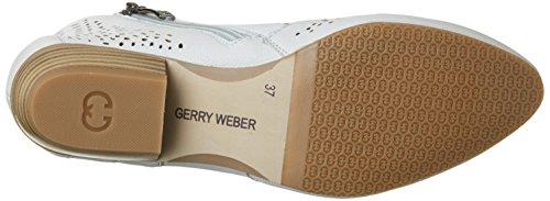 Gerry Weber Como 03, Bottines femme Blanc (blanc cassé)
