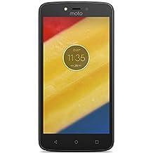 """Motorola Moto C Plus - Smartphone de 5"""" (4 G, Bluetooth 4.2, procesador Quad Core Mediatek MT6737M, memoria interna de 16 GB, 2 GB de RAM, HD, Android 7.0 Nougat) negro"""
