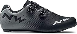 Northwave Revolution Rennrad Fahrrad Schuhe schwarz/grau 2019: Größe: 48