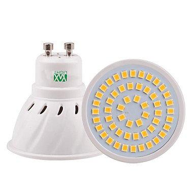 5W GU10 GU5.3(MR16) E26/E27 Spot LED 54 SMD 2835 400-500 lm Blanc Chaud Blanc Froid Blanc Naturel Décorative V 1 pièce ( Connecteur : GU5.3 , Couleur de source : Blanc froid-110V )