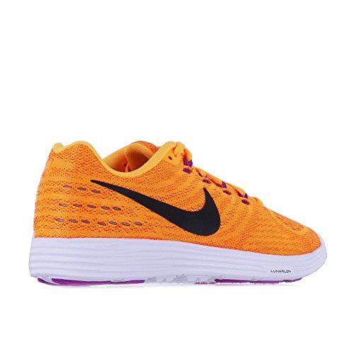 Nike Wmns Lunartempo 2, Chaussures de Running Entrainement Femme Orange - Naranja (Lsr Orange / Blk-White-Ttl Orng)