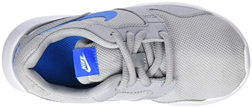 Nike Kaishi, Scarpe da Corsa Bambino Grigio (Wolf Grey/Photo Blue-White)