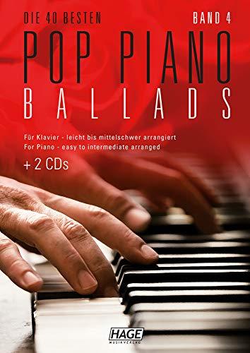 Pop Piano Ballads 4 (mit 2 CDs):...