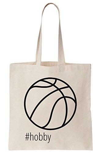 Hashtag Basketball Canvas Tote Bag