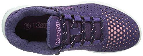 Kappa NETWORK Footwear unisex Synthetic/Mesh Unisex-Erwachsene Sneakers Mehrfarbig (2321 LILA/ROSE)