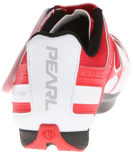 Pearl Izumi , Chaussures de cyclisme pour homme white-true-red