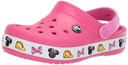 crocs Baby Mädchen Crocband Minnie Clog, Paradise Pink, 21 EU
