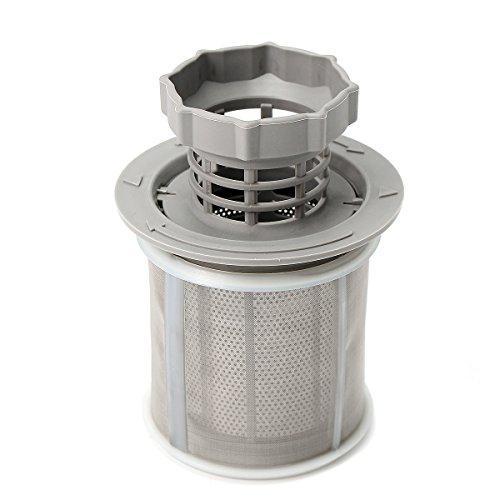 ZHENWOFC Ersatz-Micro-Mesh-Filter Zweiteilig für Küche BOSCH Geschirrspüler Hardware-Ersatzteile