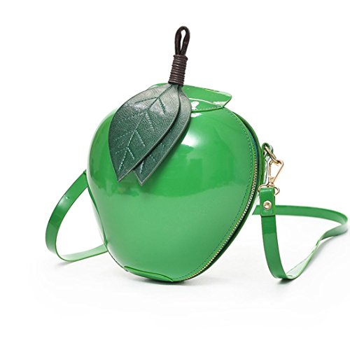 Damen Tasche, Huihong Shopper Tasche Mode Apfel Handtasche ReißVerschluss Tasche Schultertasche Tote Frauen UmhäNgetasche FüR Freundin Geschenk (Grün) -