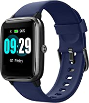 Updated 2019 Version Smart Watch for Android iOS Phone, Activity Fitness Tracker Watches Health Exercise Smart