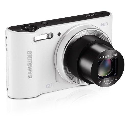 Samsung Smart WB30F Point & Shoot (White)