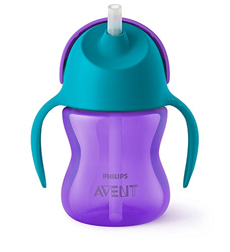 Philips Avent Sipper With Straw 200Ml/ 7Oz (9M+) (Purple)
