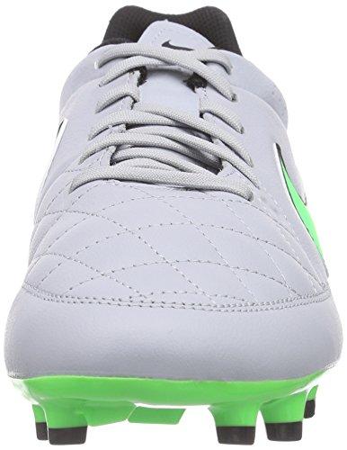 Nike Herren Tiempo Genio Leather Fg Fußballschuhe Grau