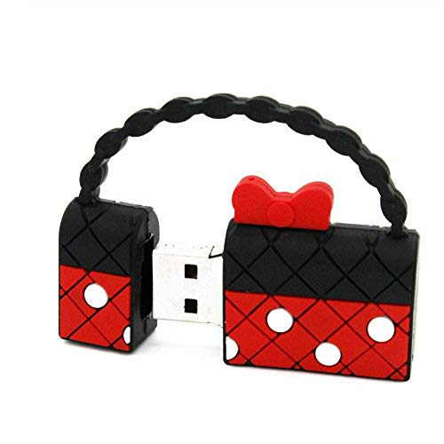 YOROSHI Handtasche USB-Flash-Laufwerk Geldbörse Pendrive 64 GB U-Festplatte USB 2.0-Stick Niedliche Taschen U-Festplatte Memory Stick Geschenke