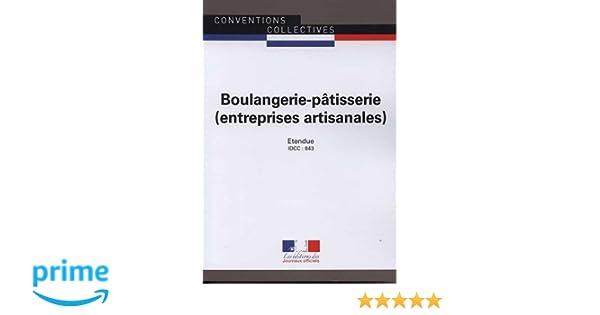 Amazon Fr Boulangerie Patisserie Entreprises Artisanales Idcc