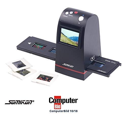 Somikon Dia Digitalisierer: Stand-Alone-Dia- und Negativscanner, 9 Megapixel-Sensor, TFT-Display (Diabetrachter)