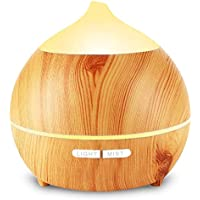 Aroma Diffuser Leise, OKELAY 250ml Luftbefeuchter Oil Düfte Humidifier Holz Ultraschall LED mit 7 Farben fürBüro... preisvergleich bei billige-tabletten.eu