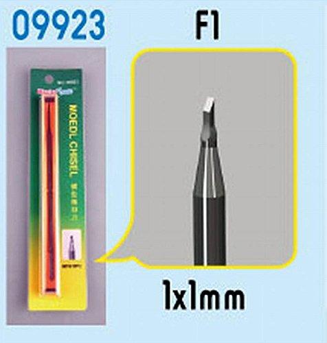 Master Tools 09923 - Modellbauzubehör Chisel F1, Meißel, grau