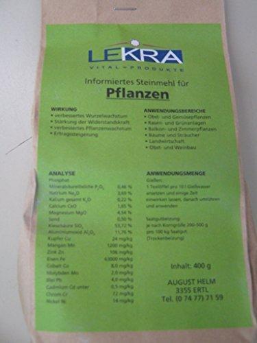 Harina de roca, Fertilizante natural para la planta, Biolit para Aprox. 100 000 qm