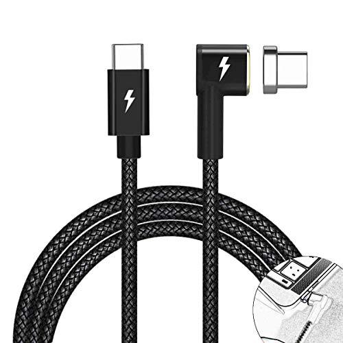 USB Typ C Kabel für MacBook Pro für Ipad Pro (Schwarz) ()