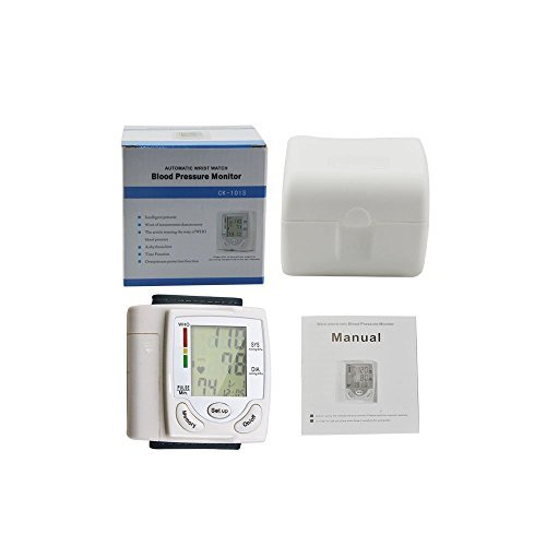 Wrist Blood burden Monitor Fully Automatically evaluate with Digital LCD panel show for Blood burden and Heart Beat Sports Outdoors