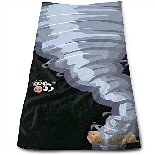 Beautiful-tornado-cartoons-clipart-cartoon-tornado-animation-tornado-cartoons.jpg Microfiber Bath Towels,Soft, Super Absorbent and Fast Drying, Antibacterial, Use for Sports, Travel, Fitness, Yoga