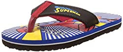 Superman Boys Royal Blue Flip-Flops and House Slippers - 5 kids UK/India (22 EU)
