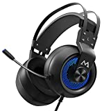 Mpow Gaming Headset with 50mm Drivers, Stereo Surround Sound Gaming Headset with Noise
