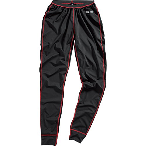 Thermoboy Funktionsunterwäsche Hose lang Funktions-Unterhose mit Membran 1.0 schwarz L