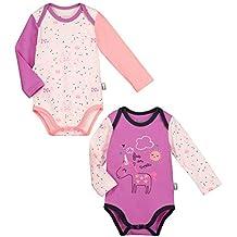 ef52994e5 Petit Béguin – Lot de 2 bodies de manga larga bebé niña unicornio