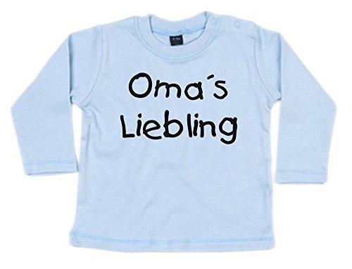 G-graphics Oma´s Liebling Baby Sweatshirt (268.0004) (12-18 Monate, Dustyblue)