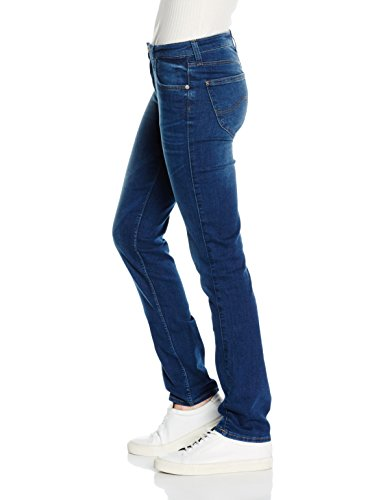 Lee Damen, Straight Leg, Jeans, Marion Blau (Night Sky Haim)