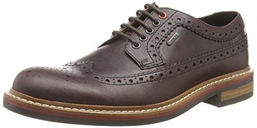 Clarks Darbylimit Gtx, Brogues homme Marron (Chestnut Leather)