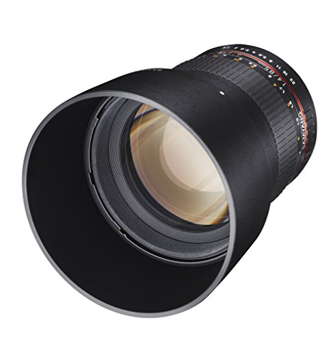 Samyang 85mm F1.4 Objektiv für Anschluss Samsung NX - 3