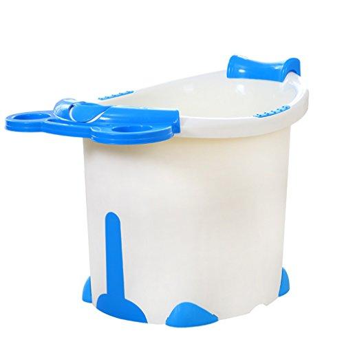 FJXLZ® Aufblasbare Badewanne, Baby-Schwimmbecken Kunststoff Kind Badewanne Verdickung Isolierung Bad Barrel Dickere Isolierung Zusammenklappbar Badewanne ( Farbe : #1 )