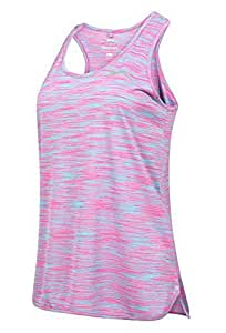 SLAZENGER WOMENS VEST RACER BACK LADIES LOOSE FIT TOP