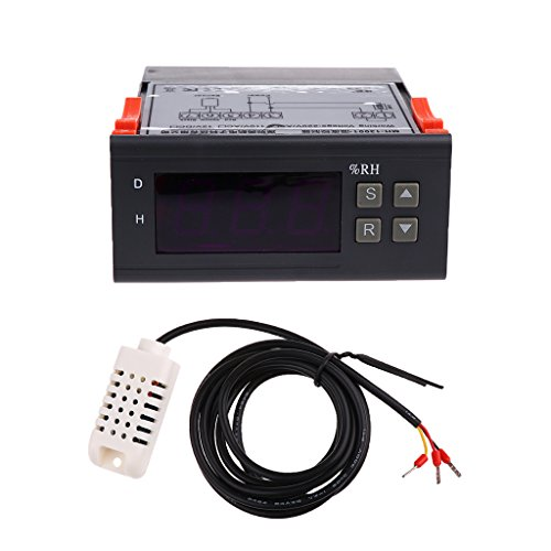 220V Digital Air Humidity Controller Regler Thermostat Range 1%-99% MH13001 (Range-regler)
