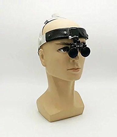 zgood dy-108Dental Power 3,5x Fernglas Lupen 280-380mm Arbeitsabstand Gläser