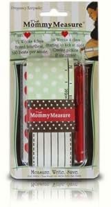 Mommy Measure - Suivi de Grossesse - Vert à pois blancs